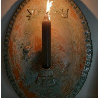 Kaarsen en waxine borden